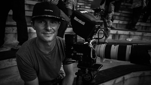 Director, Cinematographer John Roderick of Neu Productions